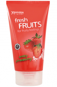 Лубрикант - freshFRUITS Crazy Strawberry, 150 мл